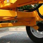 2,000-Pound Dexter Torflex Axle makes the J.P. Carlton 660 tow securely.