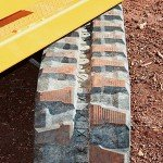 Caterpillar Rubber Track Undercarriage provides optimal traction in all situations.