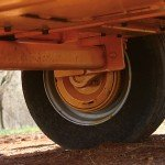 "3500 Pound Capacity Dexter Axle and 14"" tires make the 1260 tow great while minimizing tire wear."