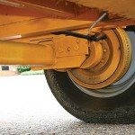 10,000-pound Capacity Dexter Torflex Axle makes the 2518 tow great, while minimizing turf damage.