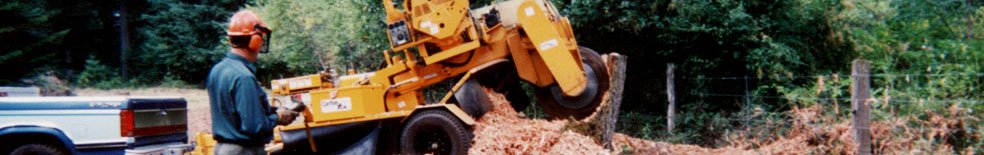Carlton Grinder Gallery - Stumpcutters & Wood Chippers Galore!