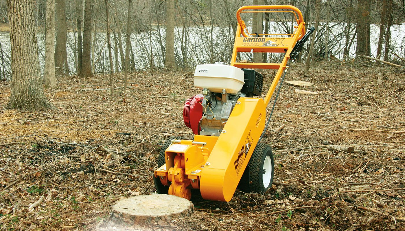 900H Stump Cutter Feature Image