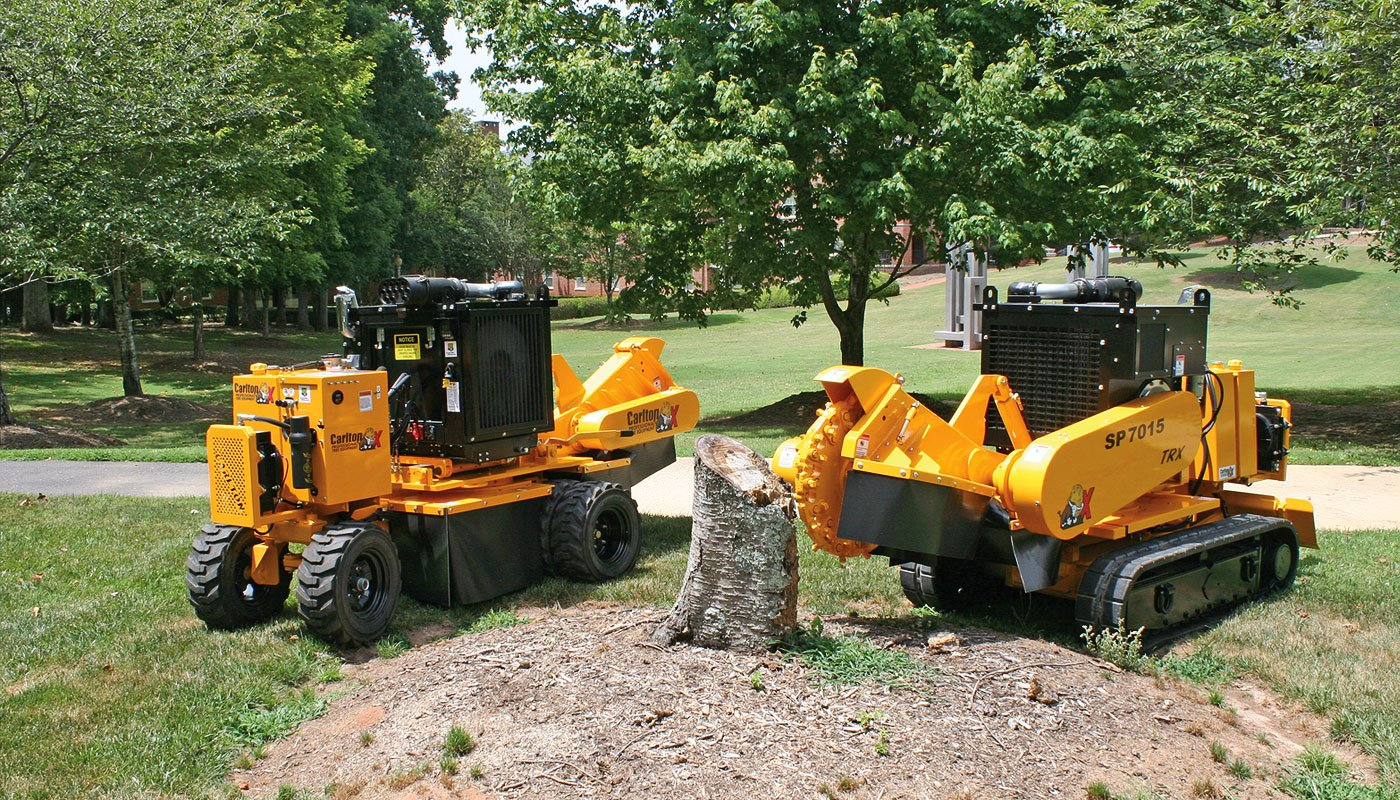 SP7015 Self-Propelled Stump Cutter