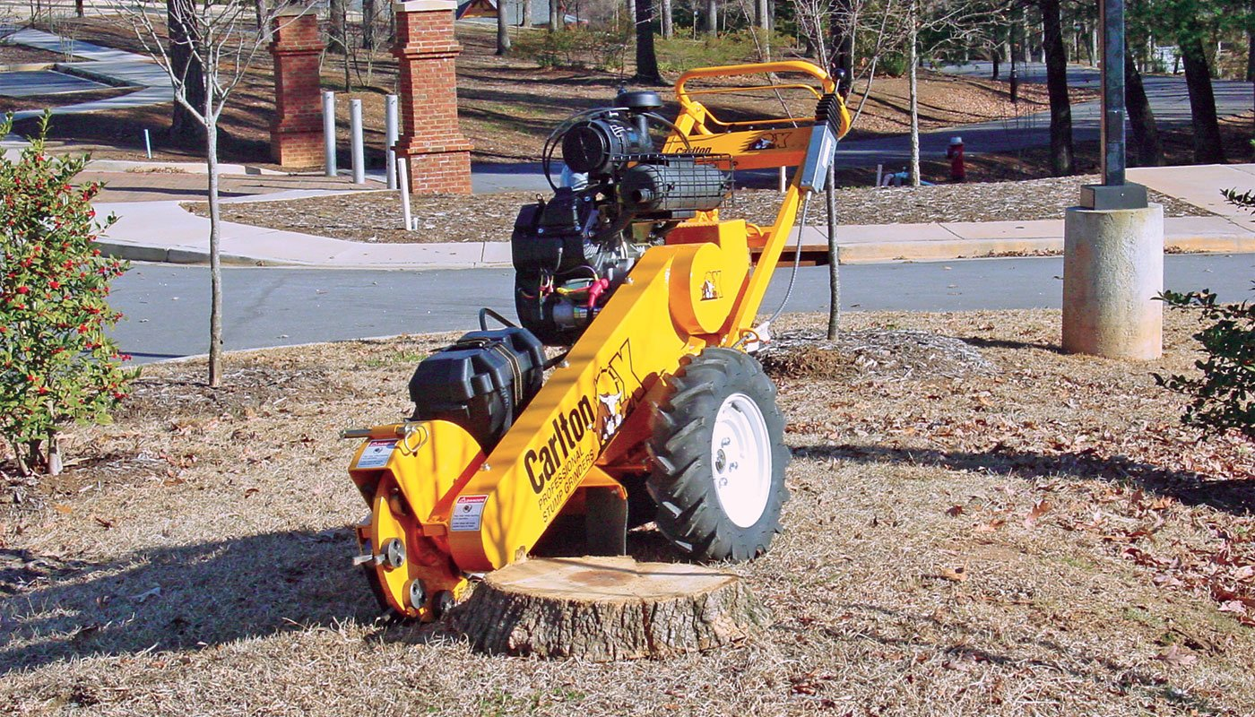 SP2000 Stump Cutter Feature Image