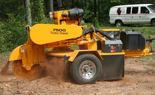 7500 Stump Cutter