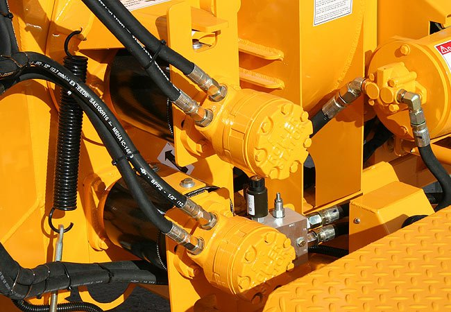 High-torque Dual Feed Motors provide the most infeed power of any 6