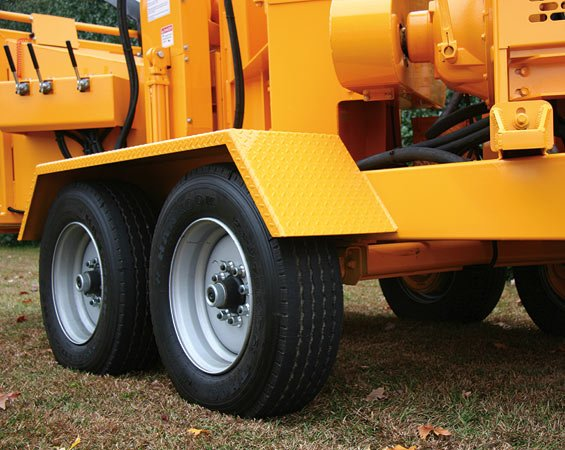 Two 9000 Pound Capacity Dexter Axles with electric brakes on both axles make the 2018HD tow great while minimizing tire wear.