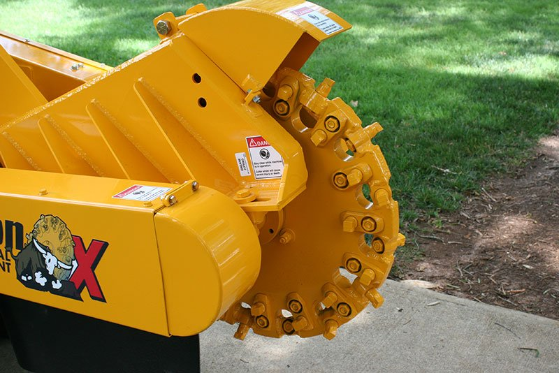 08 SP7015 TRX Stump Cutter