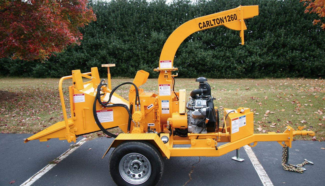 1260 Series (6 in.) Disk Chippers « Carlton Professional Tree Equipment | Wood Chipper Engine Diagram |  | J.P. Carlton