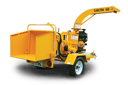 660 Series Wood Chipper Disk Style