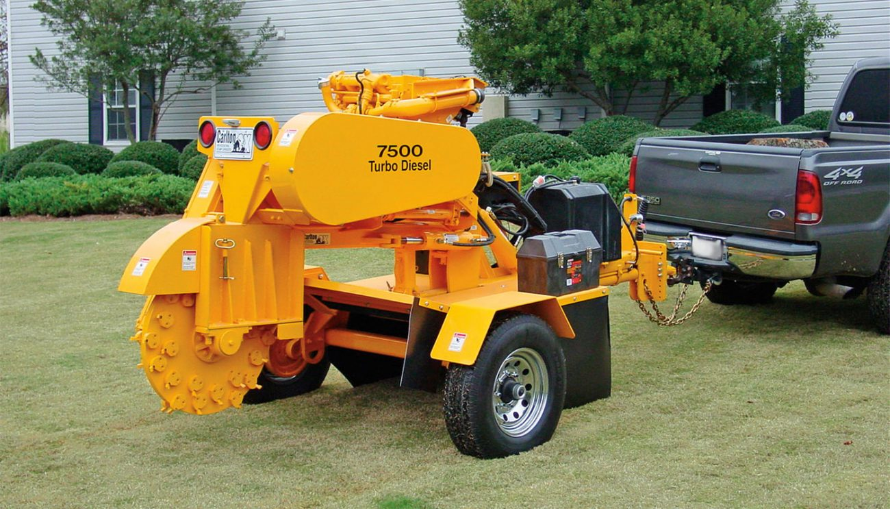 7500 Series Tow Behind Stump Cutters