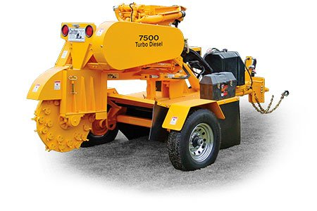 7500 Tow-Behind Stump Cutter