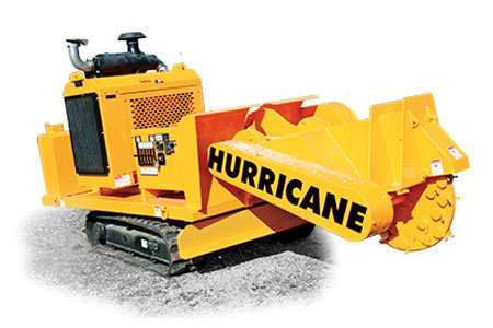 Hurricane RS Stump Cutters Track-Mounted