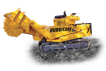 Hurricane TRX Stump Cutters Track-Mounted