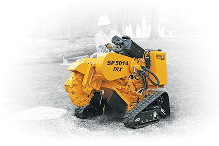 SP5014 TRX Series Track-Mounted Stump Cutters « Carlton