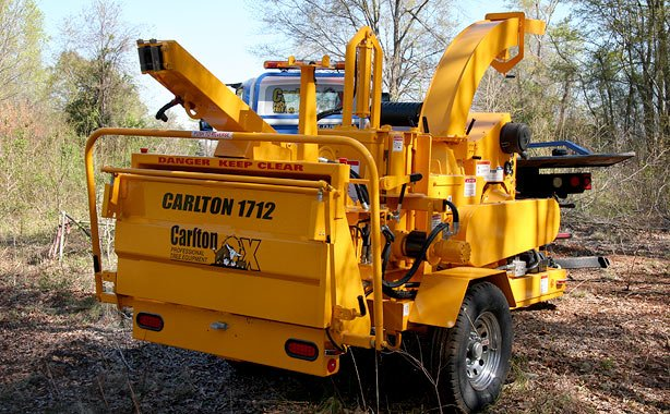 12in Capacity Drum Chipper