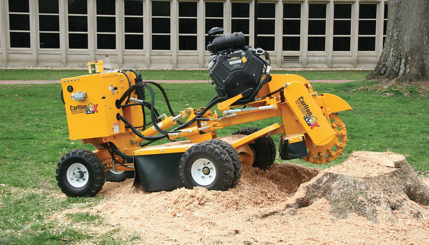 SP5014 Stump Cutter Feature Image