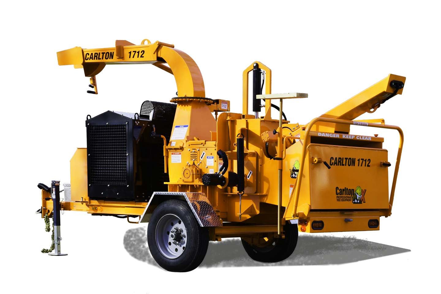 1712 Series (12 in.) Drum Chippers