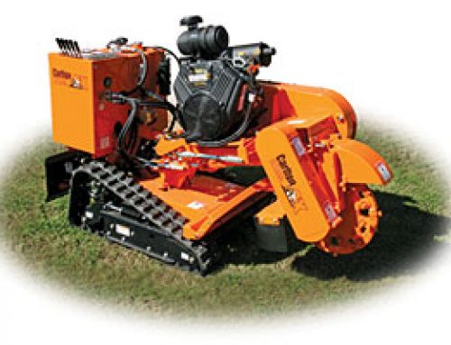 New Self-Propelled Stump Cutter From J.P. Carlton